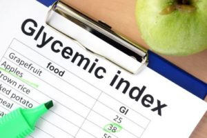 a glycemic index chart
